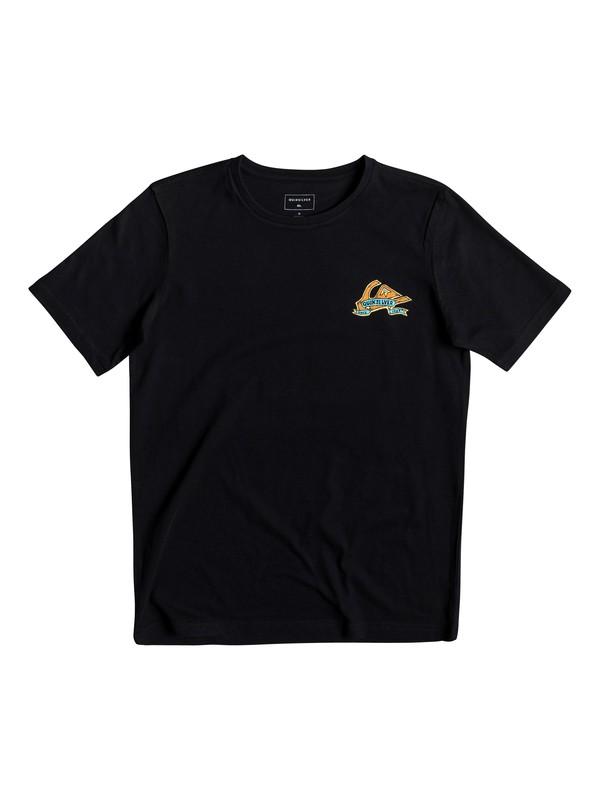 0 Tattered - T-Shirt for Boys 8-16 Black EQBZT03904 Quiksilver