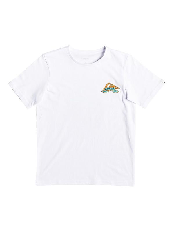 0 Tattered - T-shirt pour garçon 8-16 ans Blanc EQBZT03904 Quiksilver