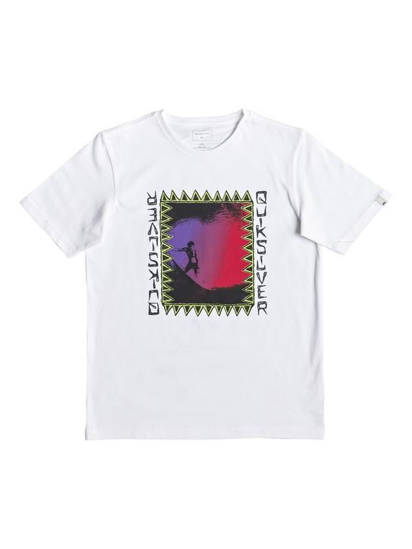 0 Ka Riding - T-Shirt for Boys 8-16 White EQBZT03905 Quiksilver