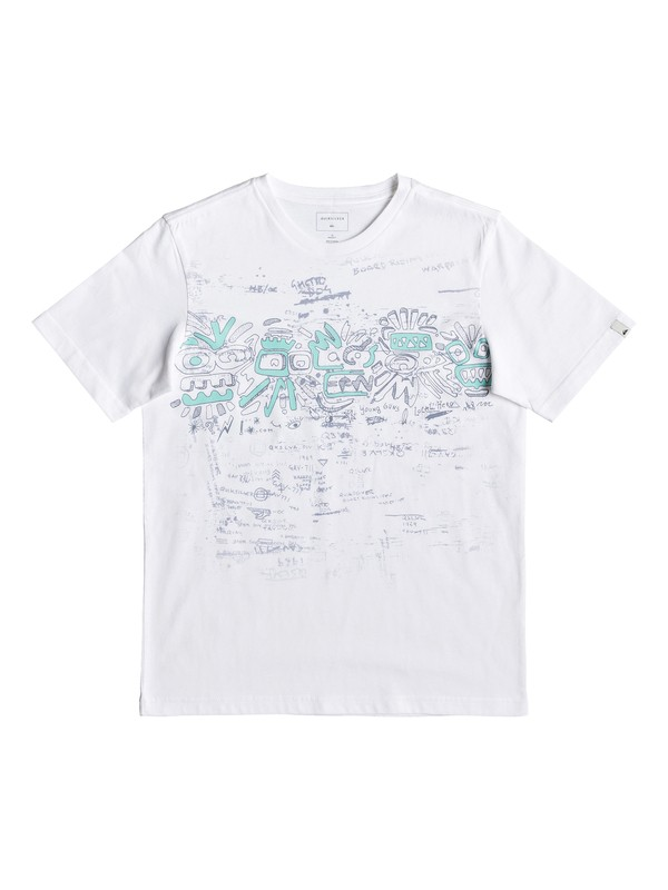 0 Детская футболка Local Heroism Белый EQBZT03910 Quiksilver