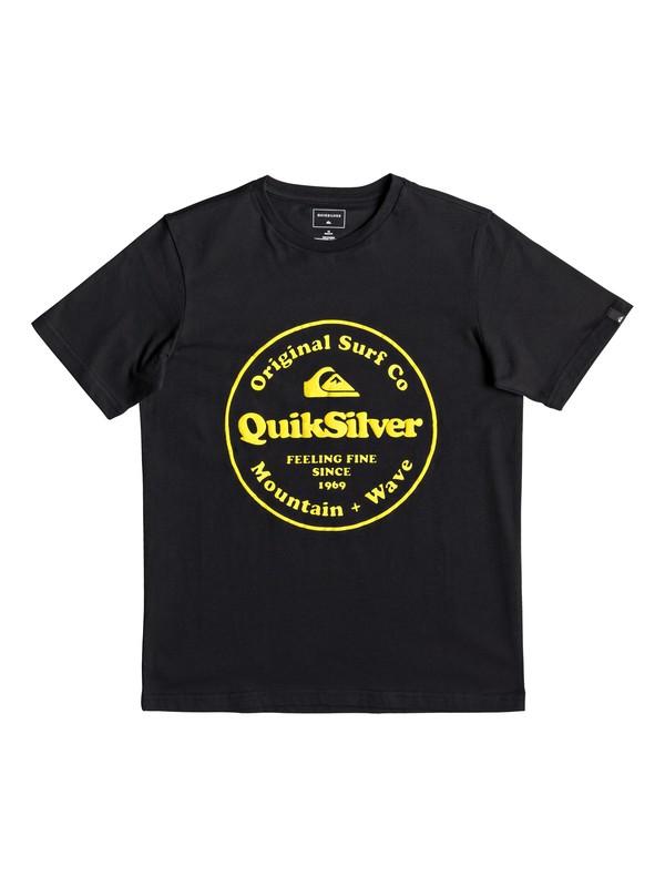 0 Secret Ingredient - T-shirt pour garçon 8-16 ans Noir EQBZT03911 Quiksilver