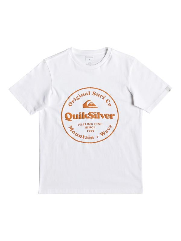 0 Secret Ingredient - T-shirt pour garçon 8-16 ans Blanc EQBZT03911 Quiksilver