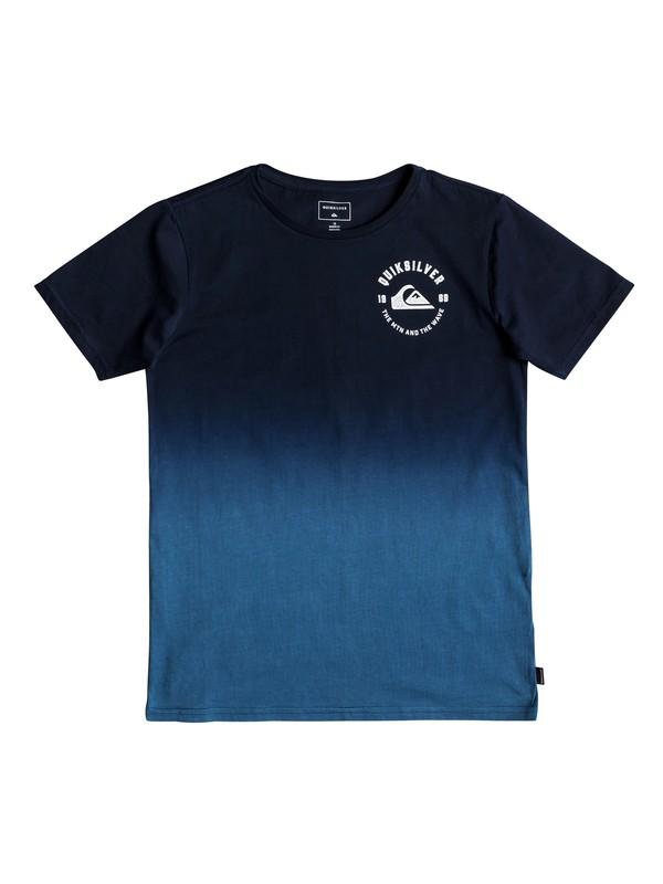 0 Boy's 8-16 Captain Dip Dye Tee Blue EQBZT03916 Quiksilver