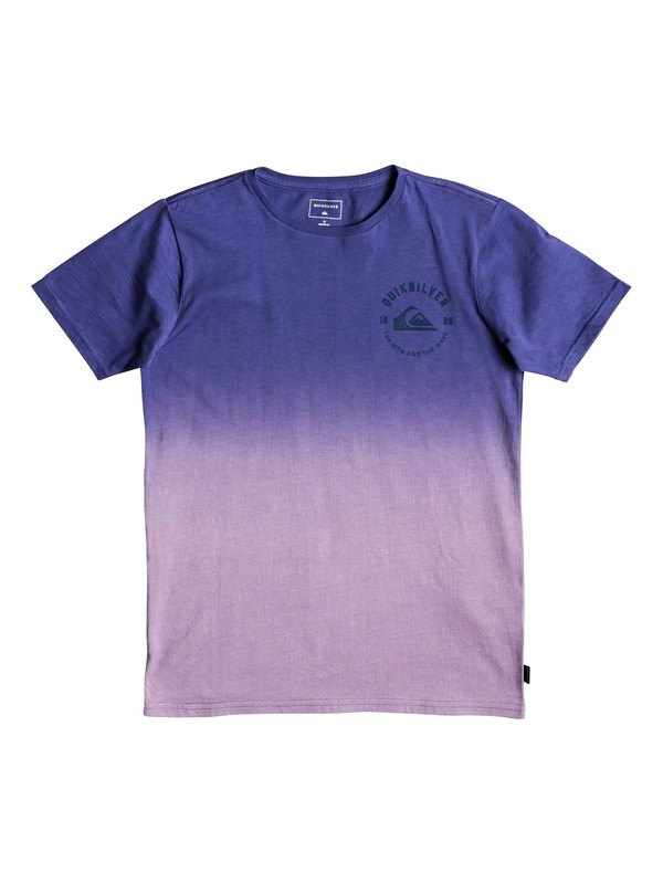 0 Boy's 8-16 Captain Dip Dye Tee Purple EQBZT03916 Quiksilver