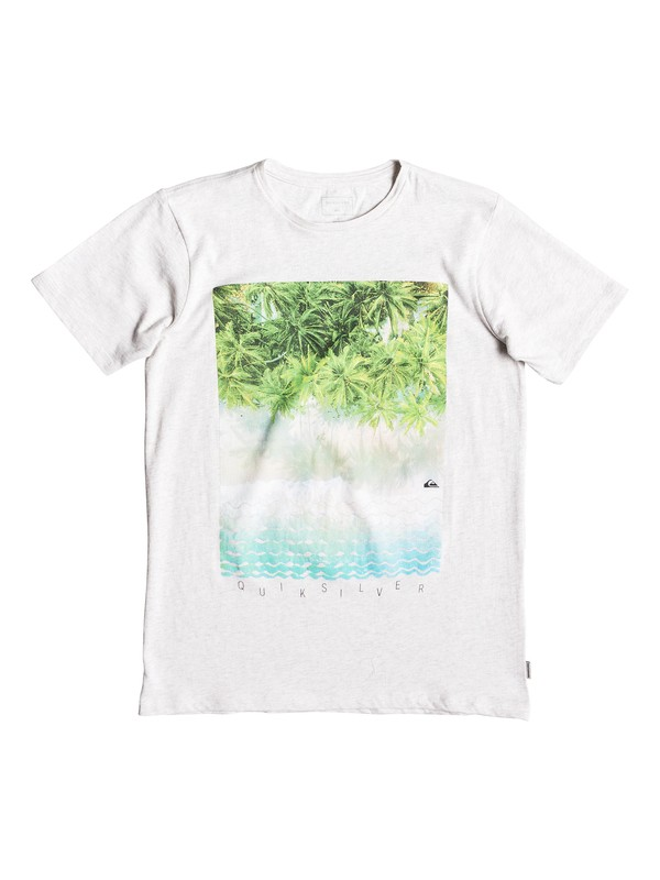 0 Perth Or Bust - T-Shirt for Boys 8-16 White EQBZT03922 Quiksilver