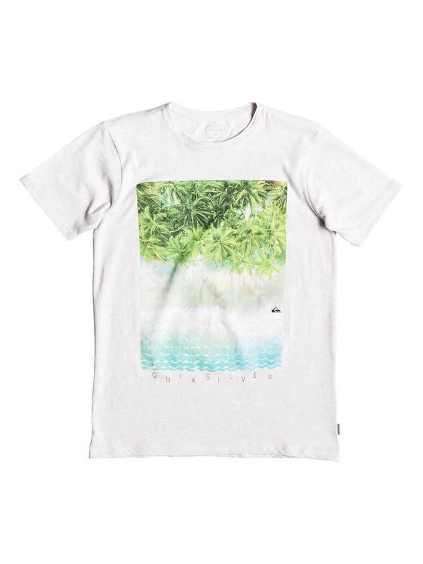 0 Perth Or Bust - T-shirt pour garçon 8-16 ans Blanc EQBZT03922 Quiksilver