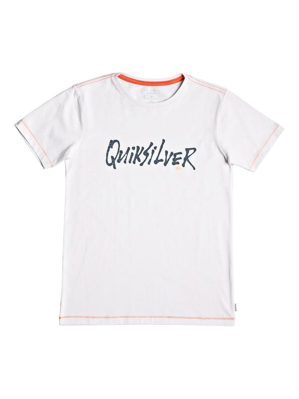 0 Scriptural - T-Shirt for Boys 8-16 White EQBZT03926 Quiksilver