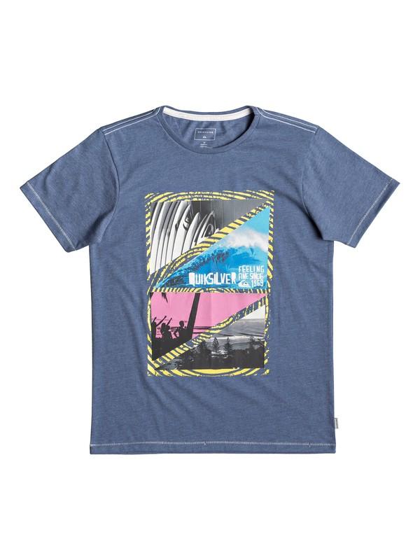 0 Youth Dream - T-shirt pour garçon 8-16 ans Bleu EQBZT03927 Quiksilver