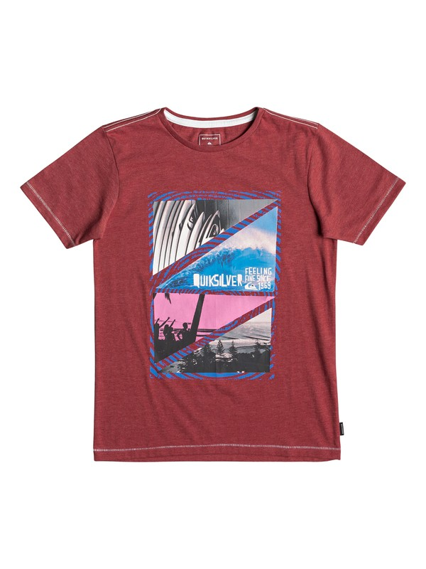 0 Youth Dream - T-Shirt for Boys 8-16 Red EQBZT03927 Quiksilver