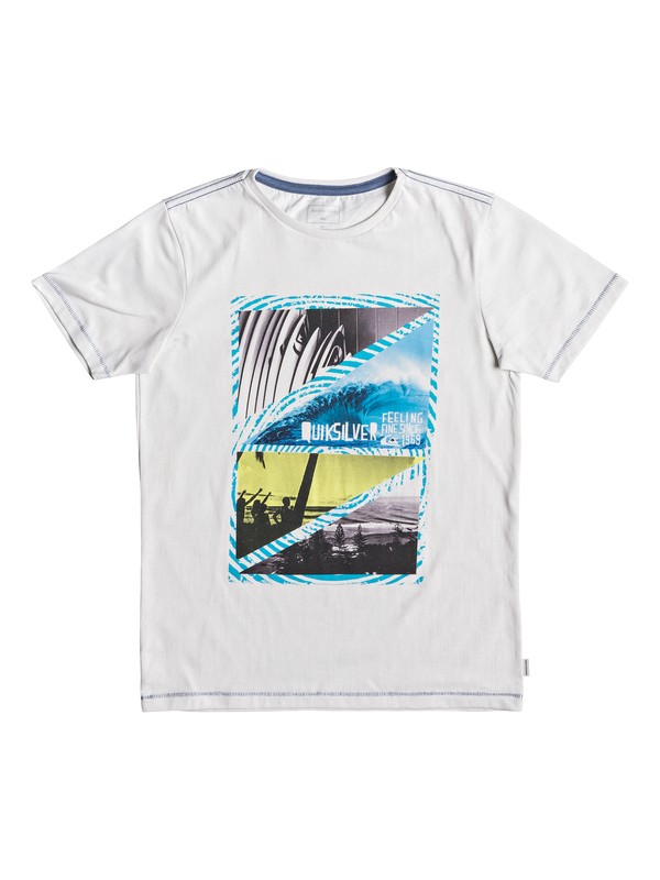0 Youth Dream - T-Shirt for Boys 8-16 White EQBZT03927 Quiksilver