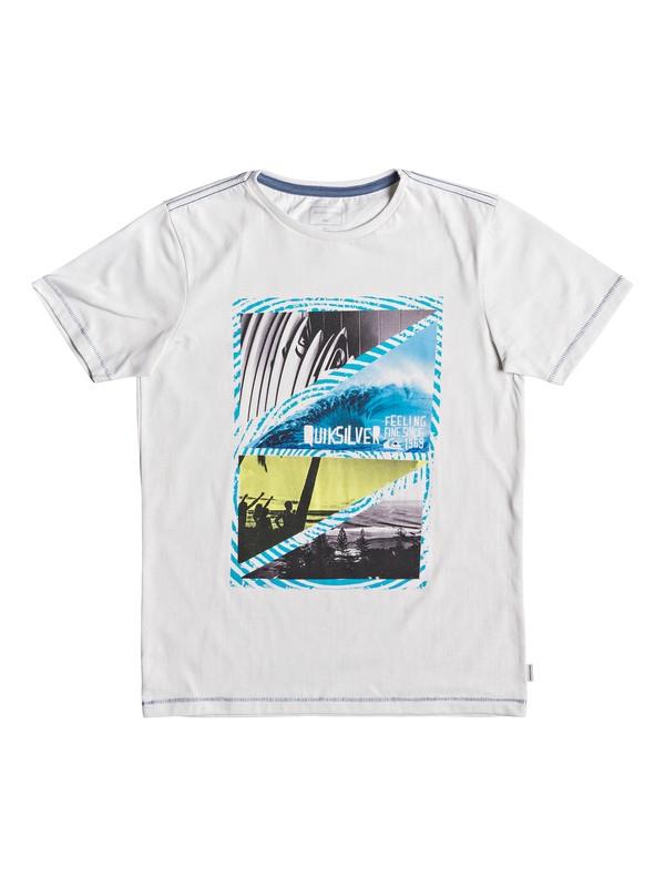 0 Youth Dream - T-shirt pour garçon 8-16 ans Blanc EQBZT03927 Quiksilver