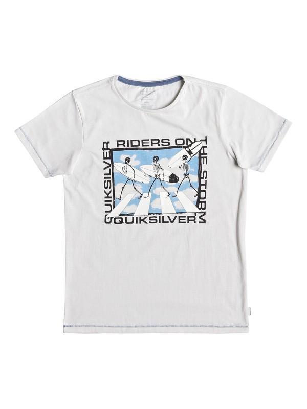 0 Stormy Rider - T-shirt pour garçon 8-16 ans Blanc EQBZT03928 Quiksilver