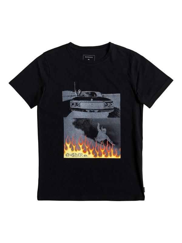 0 Against All Odd Balls - T-shirt pour garçon 8-16 ans Noir EQBZT03929 Quiksilver