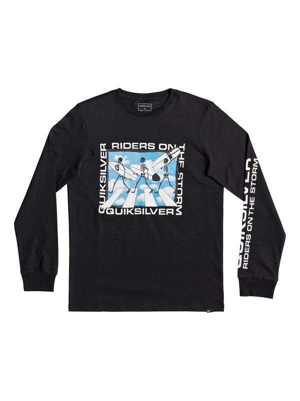 0 Stormy Riders - Long Sleeve T-Shirt for Boys 8-16 Black EQBZT03938 Quiksilver