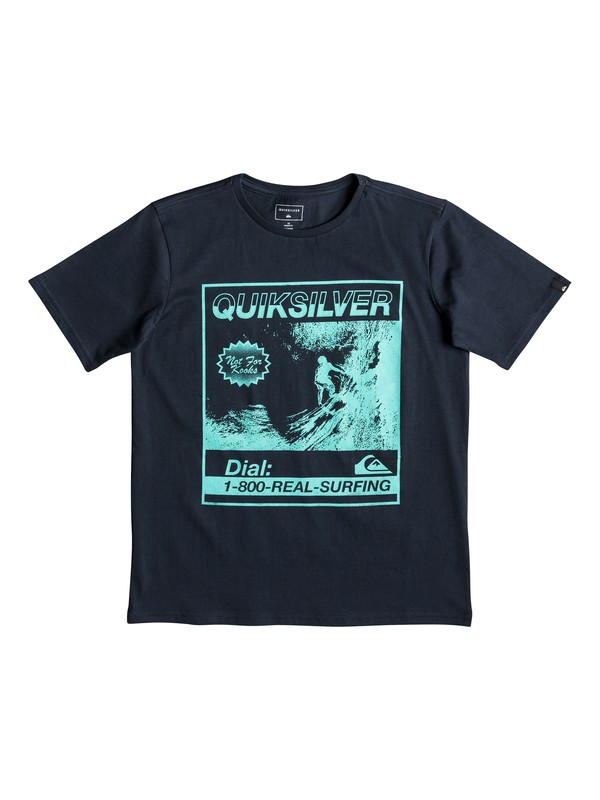 0 Temple Of The Dog - T-Shirt for Boys 8-16 Blue EQBZT03939 Quiksilver