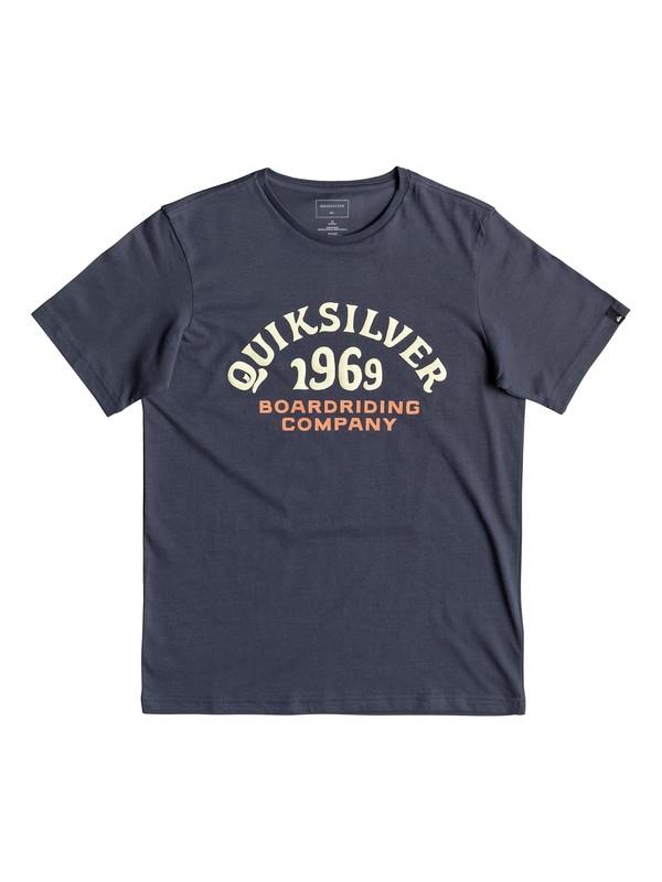 0 Kirra Shakka - T-Shirt for Boys 8-16 Blue EQBZT03940 Quiksilver
