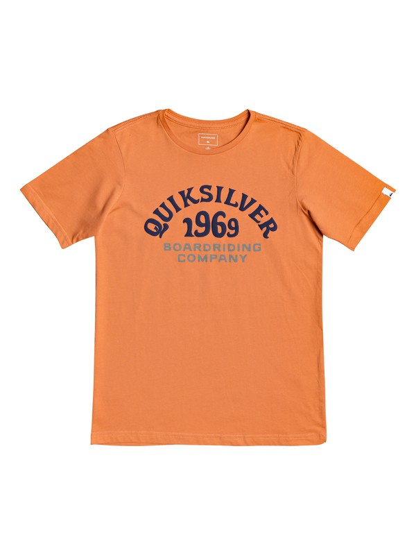 0 Kirra Shakka - T-Shirt for Boys 8-16 Orange EQBZT03940 Quiksilver