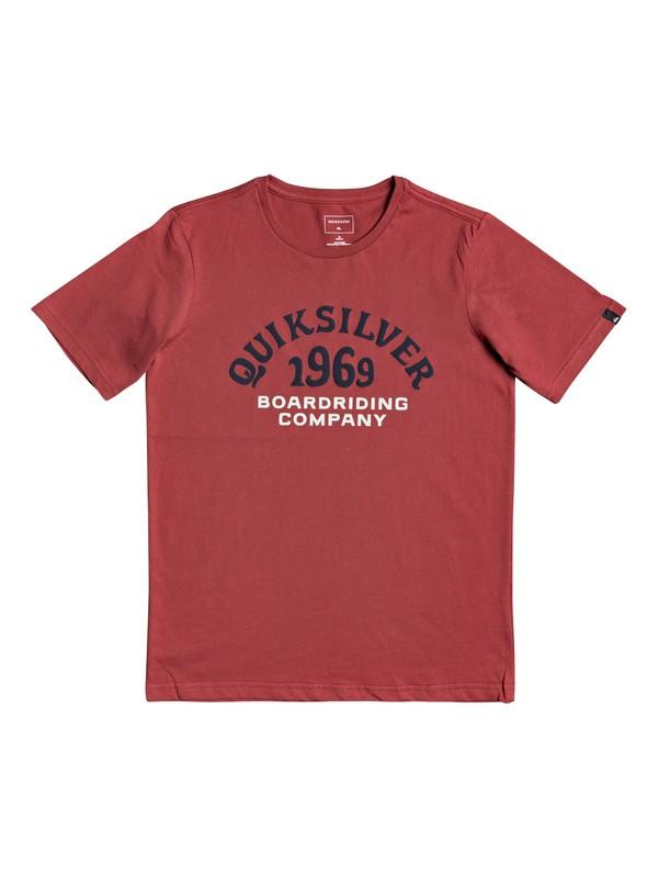 0 Kirra Shakka - T-shirt pour garçon 8-16 ans Rouge EQBZT03940 Quiksilver