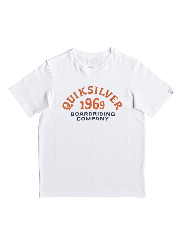 0 Kirra Shakka - T-Shirt for Boys 8-16 White EQBZT03940 Quiksilver