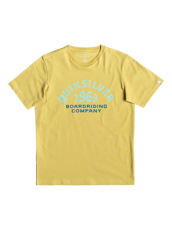 0 Kirra Shakka - T-shirt pour garçon 8-16 ans Jaune EQBZT03940 Quiksilver
