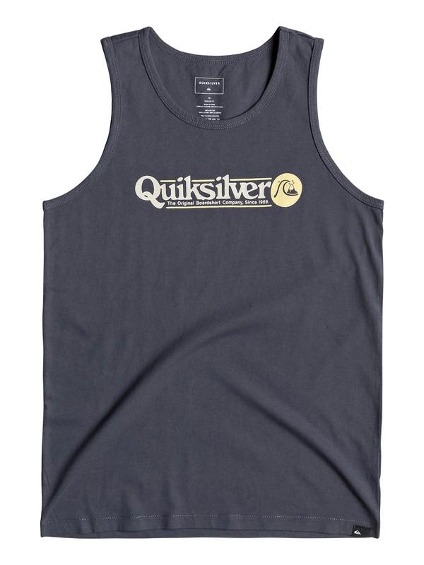 0 Art Tickle - Vest for Boys 8-16 Blue EQBZT03963 Quiksilver