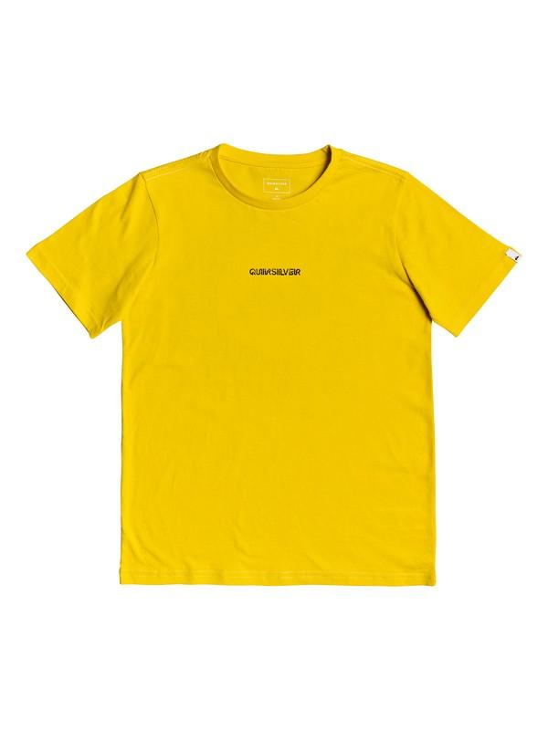 0 Checker Out - T-Shirt Green EQBZT03997 Quiksilver