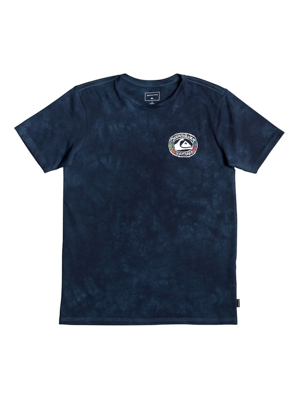 0 Cave Out - T-Shirt Blue EQBZT04011 Quiksilver