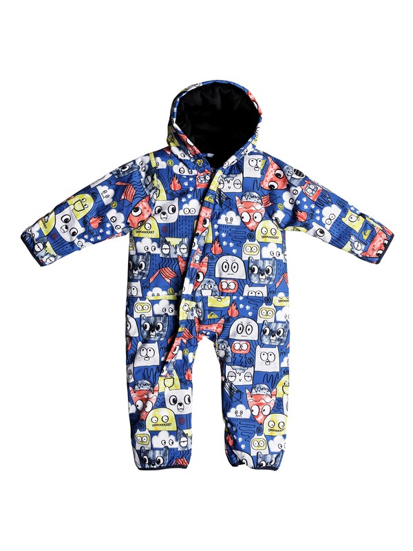 0 Baby Little Rookie Snow Suit Blue EQITS03004 Quiksilver