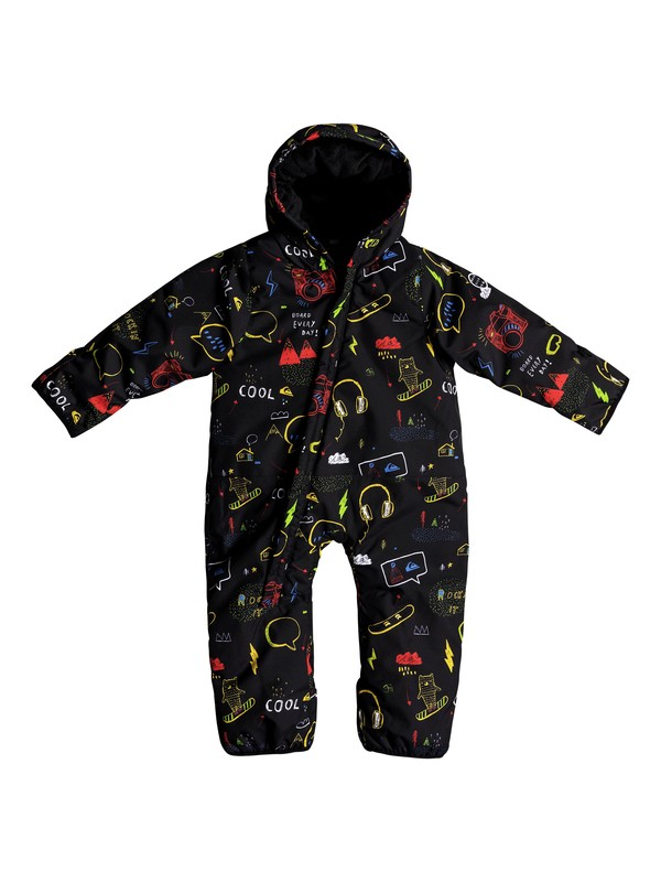 0 Baby Little Rookie Snow Suit Black EQITS03004 Quiksilver