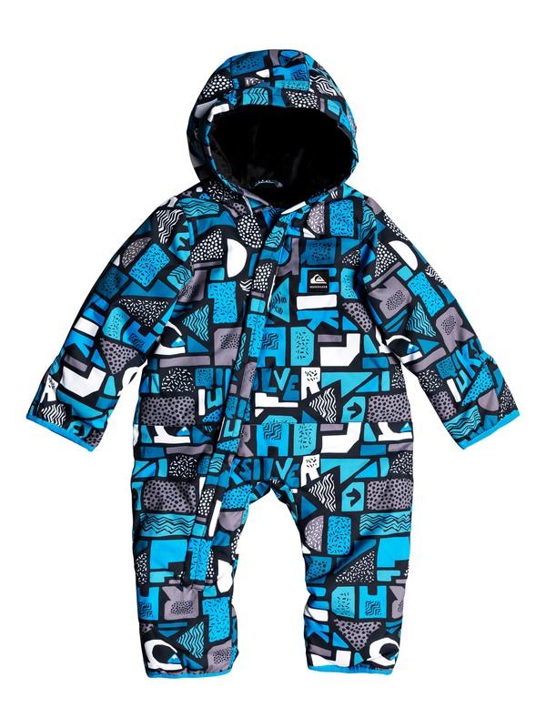 0 Baby Quiksilver Snowsuit Blue EQITS03005 Quiksilver