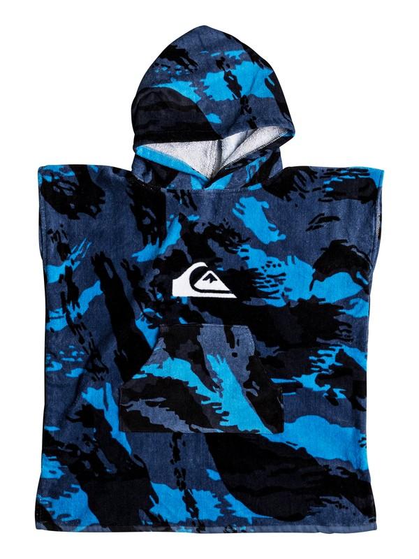 0 Quiksilver - Hooded Towel Blue EQKAA03007 Quiksilver