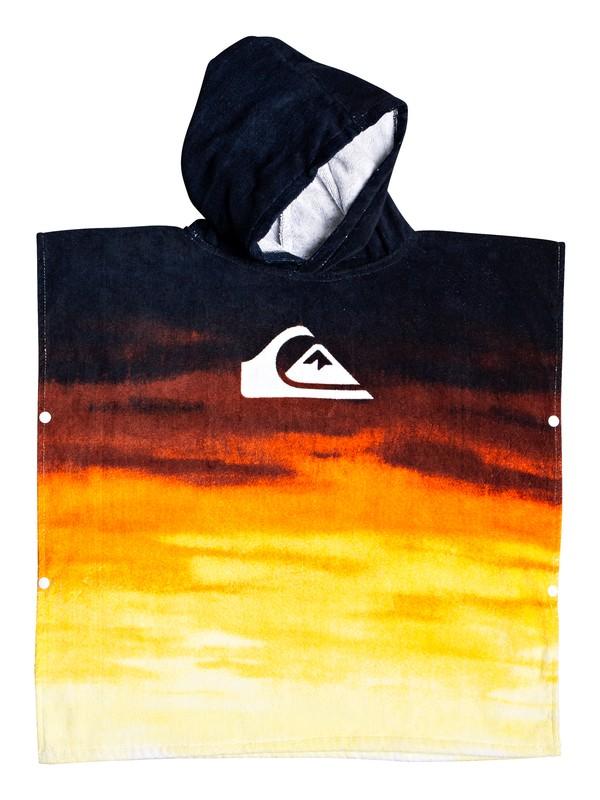 0 Детское пляжное полотенце-пончо Quiksilver Оранжевый EQKAA03014 Quiksilver