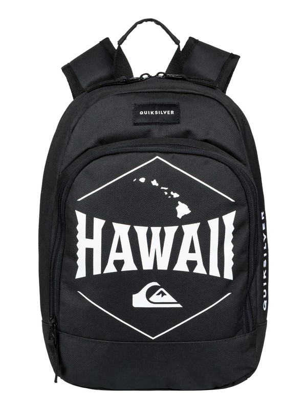 0 Chompine 12L Small Backpack Black EQKBP03009 Quiksilver