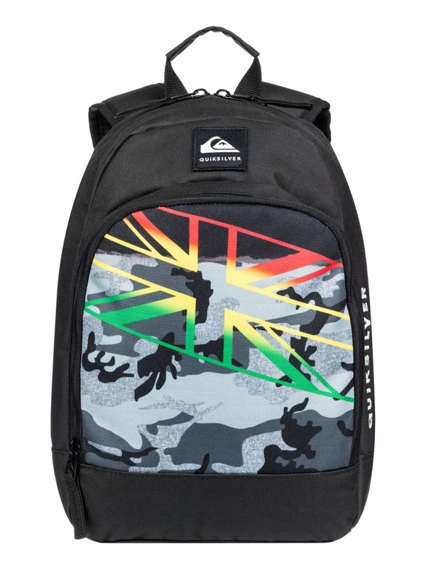 0 Boy's 2-7 Chompine 12L Small Backpack Black EQKBP03014 Quiksilver