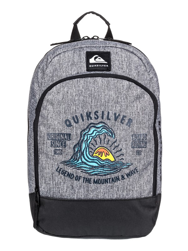 0 Boy's 2-7 Chompine 12L Small Backpack Grey EQKBP03014 Quiksilver