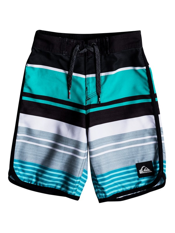 "0 Boy's 2-7 Eye Scallop 14"" Boardshorts  EQKBS03174 Quiksilver"