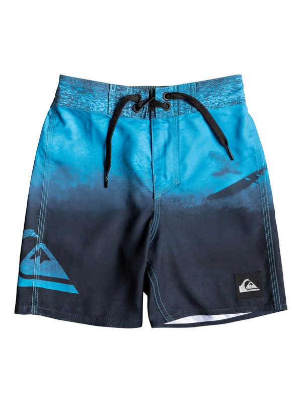 """0 Everyday Heaven 12"""" - Board Shorts for Boys 2-7 Blue EQKBS03212 Quiksilver"""