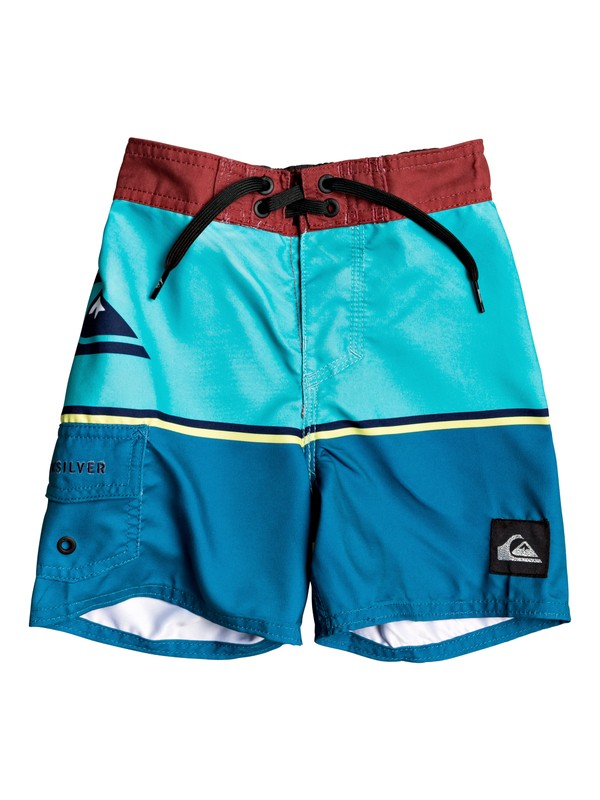 "0 Everyday Division 12"" - Board Shorts for Boys 2-7 Blue EQKBS03218 Quiksilver"