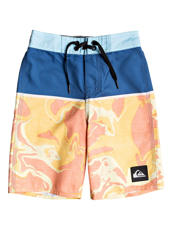 "0 Boy's 2-7 Everyday Down Under 14"" Boardshorts Blue EQKBS03224 Quiksilver"