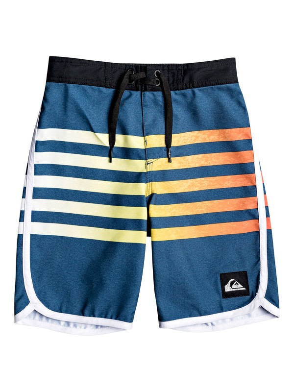 "0 Boy's 2-7 Everyday Grass Roots 14"" Boardshorts Blue EQKBS03225 Quiksilver"