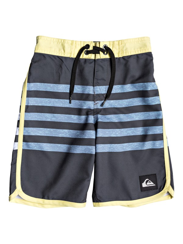 "0 Boy's 2-7 Everyday Grass Roots 14"" Boardshorts Black EQKBS03225 Quiksilver"