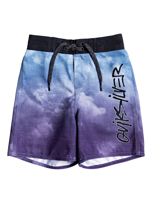 "0 Boys 2-7 Everyday Accelerator 12"" Boardshorts Blue EQKBS03254 Quiksilver"