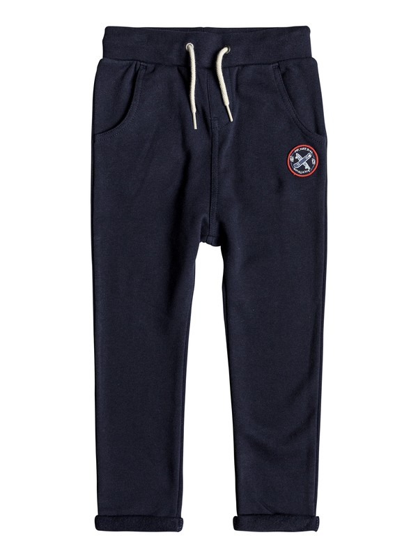 0 Tori Gates - Pantalon de jogging pour Garçon 2-7 ans Bleu EQKFB03068 Quiksilver