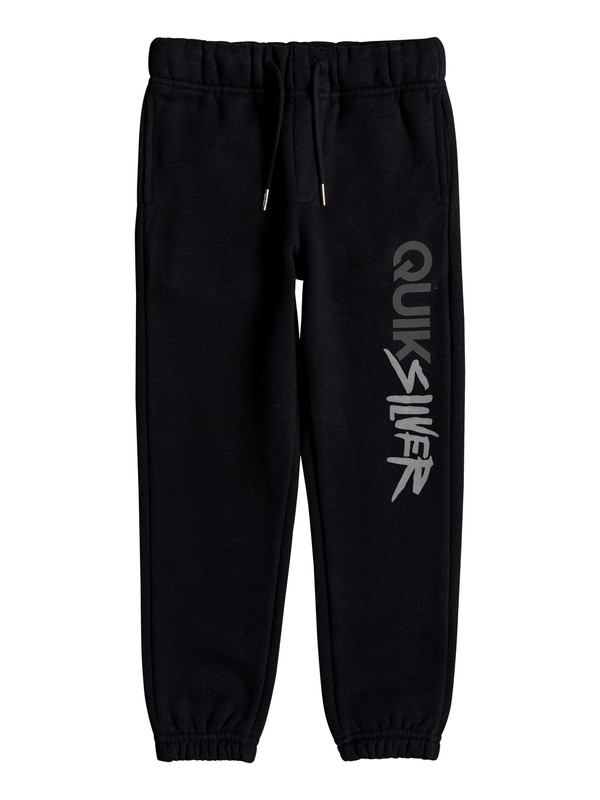 0 Boy's 2-7 Trackpant Screen Sweatpants Black EQKFB03069 Quiksilver