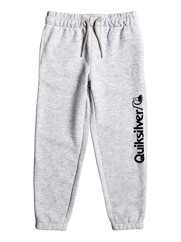 0 Boy's 2-7 Trackpant Sweatpants Grey EQKFB03082 Quiksilver