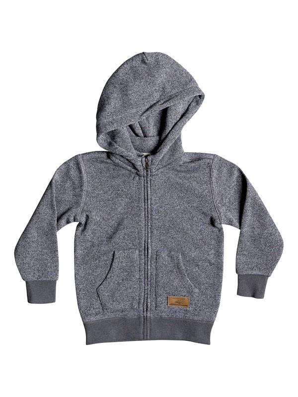 0 Boy's 2-7 Keller Zip-Up Hooded Fleece Black EQKFT03258 Quiksilver