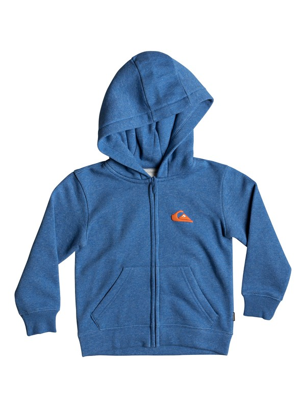 0 Boy's 2-7 Jam It Zip-Up Hoodie Blue EQKFT03278 Quiksilver