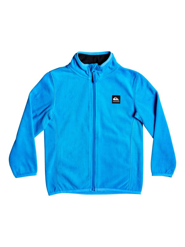 0 Boy's 2-7 Aker Zip-Up Technical Fleece Blue EQKFT03284 Quiksilver