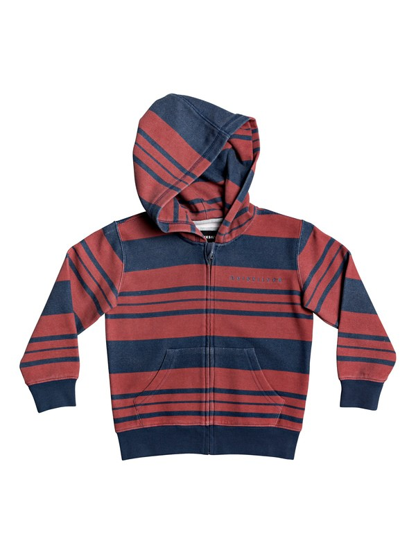 0 Boys 2-7 Max Hero Zip-Up Hoodie Blue EQKFT03305 Quiksilver