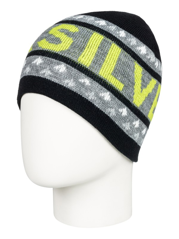 0 Boy's 8-16 Summit Beanie Black EQKHA03021 Quiksilver